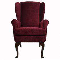 Plum Orthopedic High Seat Chair