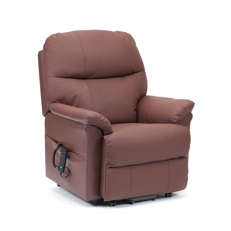 Cavendish furniture mobilitylars luxury leather dual motor for Dual motor recliner chairs