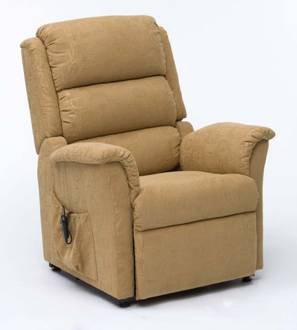 Riser Recline Chair Gold