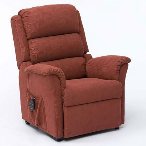 Riser Recline Chair Terracotta