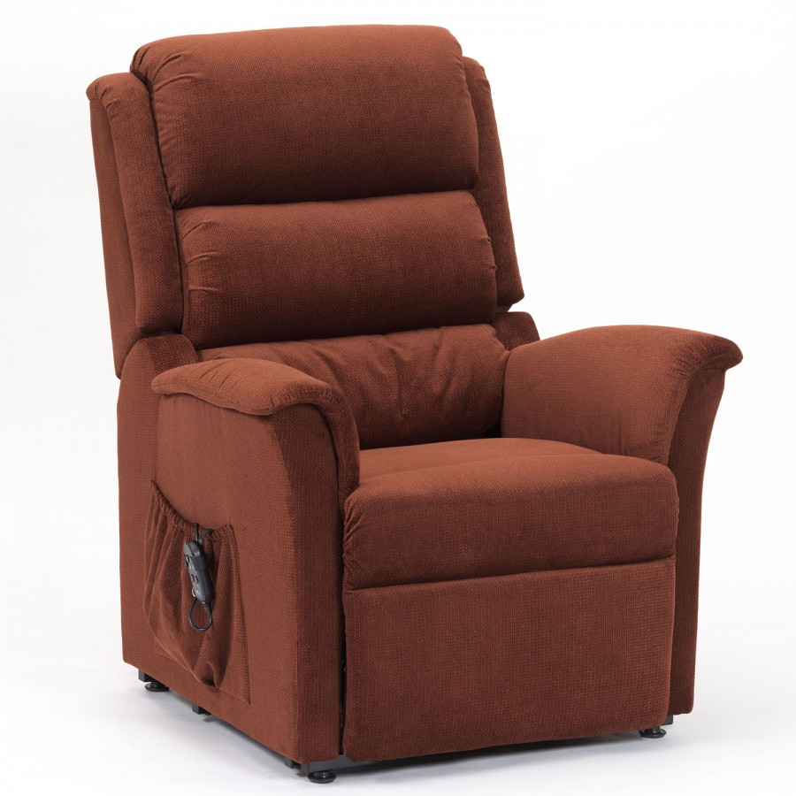 Reclining Chair Front - Cavendish furniture mobilityrestwell portland rise and recline chair russet cavendish furniture mobility