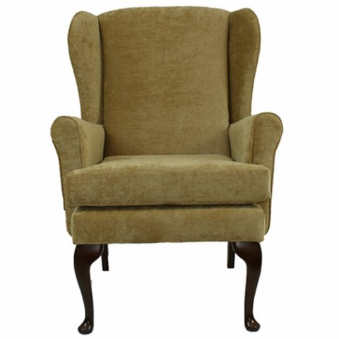 Orthopedic High Seat Chair - Queen Anne Style