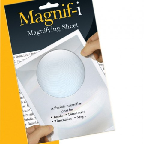 reading magnifier for the elderly