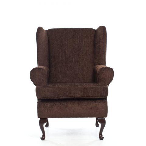 DEEP SEAT ORTHOPEDIC CHAIR IN BROWN