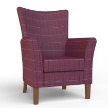 kensington fuchsia chair