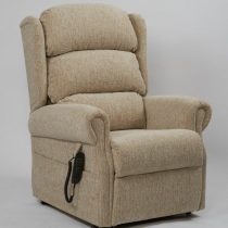 Brecon Plain Oatmeal Rise & Recline Chair