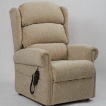 Brecon Plain Oatmeal Rise & Recline Chair