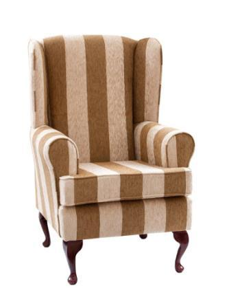 harrison stripe orthopedic chair