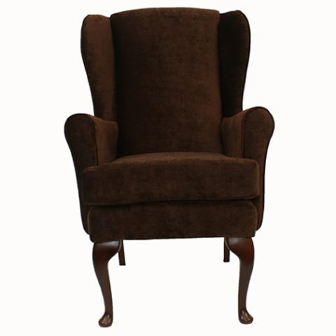 Brown Orthopedic High Seat Chair