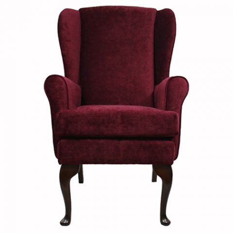 Plum Orthopedic High Seat Chair