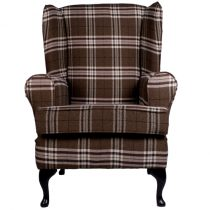 luxury brown orthopedic chair