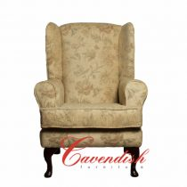 Chairs A-1 Floral Cream