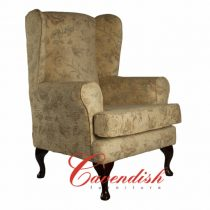 Chairs A-3 Floral Cream