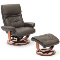 BeliceSwivelReclinerBrown