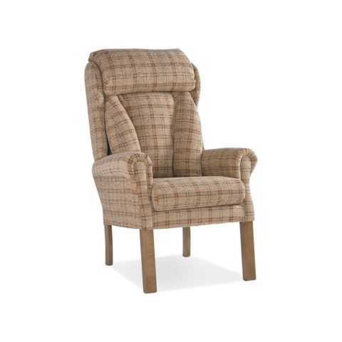 Coniston Straight Leg High Back Chair