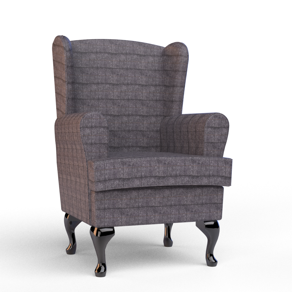 Cavendish Furniture MobilityLuxury Orthopaedic High Seat Chair In Sandwick  Aubergine Fabric U2013 Cavendish Furniture Mobility