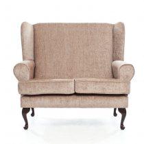 Matching Deep Seat 2 Seat Sofa in Biege