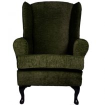 moss green orthopedic chair