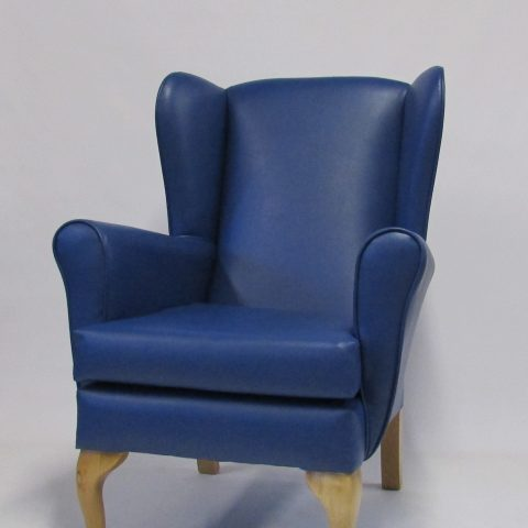 santos faux leather chair